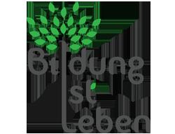 logo bildung ist leben