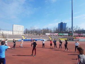 Clasa a 6 a pe stadionul Dinamo dsbu