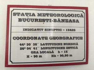 Excursie la statia meteorologica dsbu