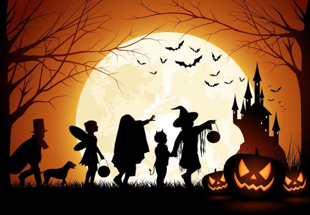 Petrecerea de Halloween a gimnaziului dsbu