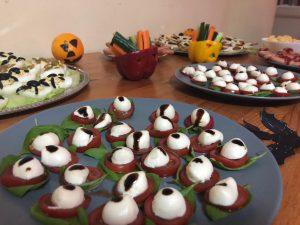 Petrecerea de Halloween a scolii primare - dsbu
