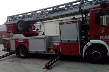 vizita la statia de pompieri baneasa - dsbu