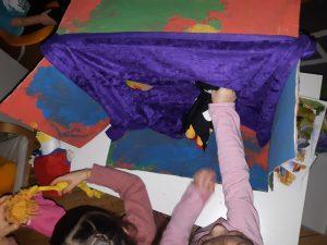 Puppentheater in der grunen Gruppe - dsbu